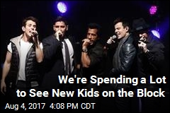 We're Spending a Lot to See New Kids on the Block