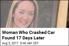 Woman Who Crashed Car Found  Days Later