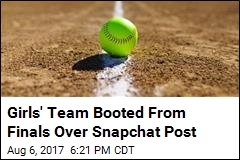 'Inappropriate' Snapchat Post Disqualifies Young Team