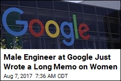 Google Engineer's Diatribe: Women Aren't Cut Out for Tech