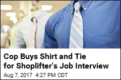 Cop Buys Shirt and Tie for Shoplifter's Job Interview
