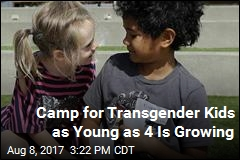In the Bay Area, a Camp for Transgender Kids as Young as 4