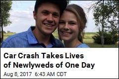 Bride, Husband of One Day Killed in Kansas Crash