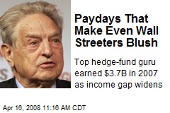 Paydays That Make Even Wall Streeters Blush