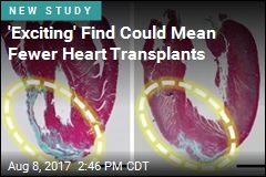 'Exciting' Find Could Mean Fewer Heart Transplants