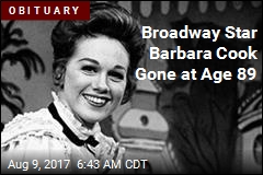 Broadway Star Barbara Cook Dies at 89