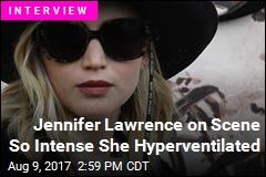 Jennifer Lawrence on Scene So Intense She Hyperventilated