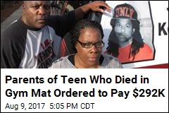 Their Son Died in a Gym Mat. Now They Must Pay $292K