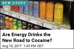 Energy Drinks Linked to Cocaine Use Later in Life