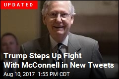 Trump Calls Out McConnell for Second Straight Day