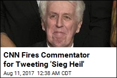 CNN Fires Jeffrey Lord for Nazi Salute Tweet