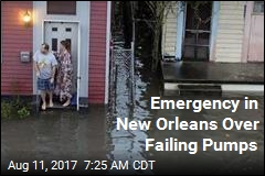 Emergency in New Orleans Over Failing Pumps