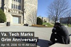 Va. Tech Marks Grim Anniversary