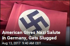 American Gets Punched After Giving Nazi Salute in Germany