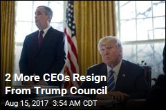 2 More CEOs Resign From Trump Council