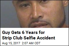 Guy Gets 6 Years for Firing Gun While Taking Selfie