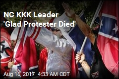 NC KKK Leader 'Glad Protester Died'