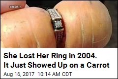She Lost Her Ring in 2004. It Just Showed Up on a Carrot