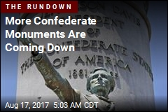More Confederate Monuments Are Coming Down