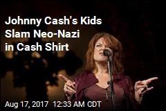 Johnny Cash's Children Slam Neo-Nazi in Cash Shirt