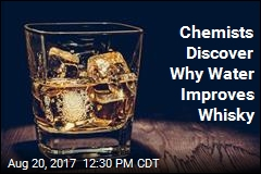 Chemists Discover Why Water Improves Whisky
