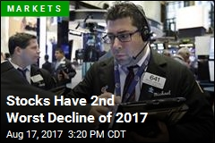 Stocks Have 2nd Worst Decline of 2017
