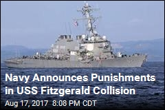 Sr. Officer on Damaged Ship To Be Relieved of Command
