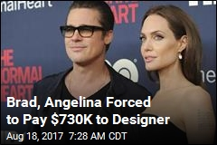 Brad, Angelina Forced to Pay $730K in Lighting Debacle