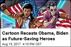 Obama, Biden Could Get Their Own Sci-Fi Cartoon