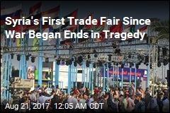 Shell Hits Syria's First Trade Fair Since War Began
