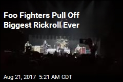 Foo Fighters Pull Off Biggest Rickroll Ever