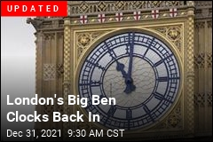 London's Big Ben Clocks Out Until 2021
