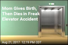 Mom Gives Birth, Then Dies in Freak Elevator Accident