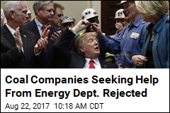 Coal CEO Says Trump Promised Help He's Not Giving