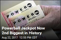 Powerball Jackpot Now 2nd Biggest in History