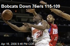 Bobcats Down 76ers 115-109