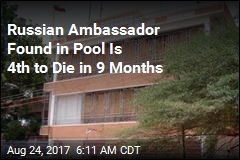 Russian Ambassador Is 4th to Die Since December