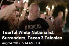 Tearful White Nationalist Surrenders