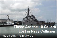 These Are the 10 Sailors Lost in Navy Collision