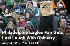 Philadelphia Eagles Fan Gets Last Laugh With Obituary