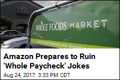 Amazon Expected to Lower Prices at Whole Foods Monday