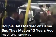 Couple Who Met on Bus Gets Married on One 13 Years Later
