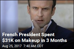 France Confirms Macron Spent $31K on Makeup in 3 Months