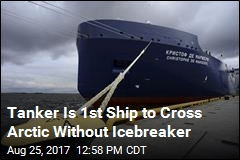 Climate Change Helps Tanker Make Historic Arctic Trip