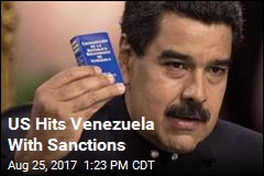 US Hits Venezuela With Sanctions
