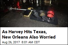 New Orleans Also Bracing for Harvey's Heavy Rain