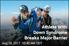 Climber With Down Syndrome Makes History