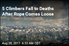 8 Climbers Fall to Deaths in Alps