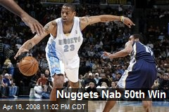 Nuggets Nab 50th Win