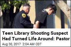 Teen Library Shooting Suspect Was Looking for 'Inner Peace'